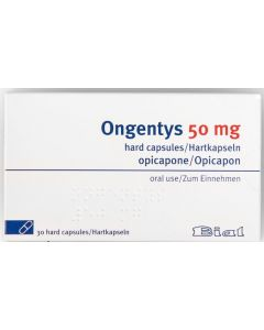 Ongentys (opicapone)