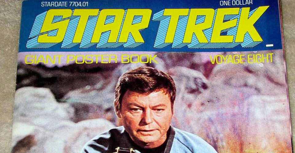 Star Trek magazine cover